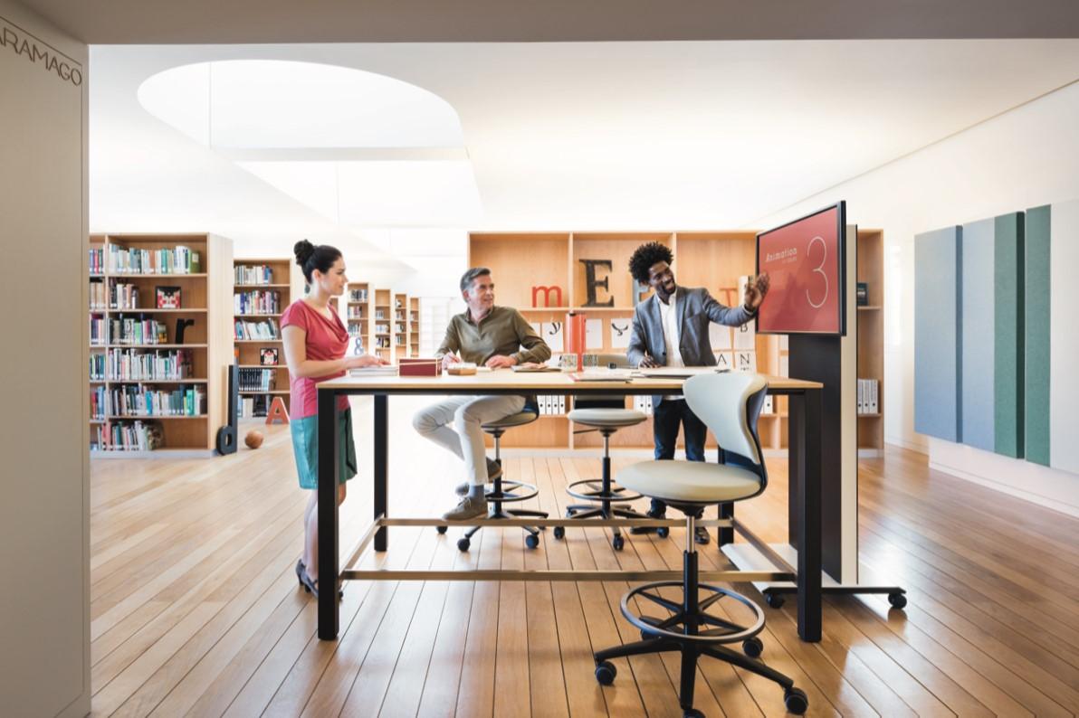 Das Büro der Zukunft / Wie New Work den Büroalltag verändert